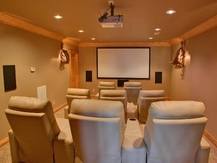 Flat Install Home Theater Jpg Automation San Antonio